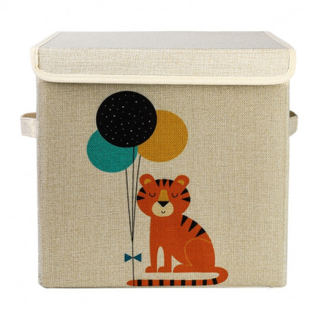 Складной ящик для игрушек. Тигр.
