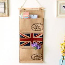 Подвесной органайзер с карманами. Британский флаг.