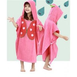 Полотенце махровое для девочки. Бабочка.