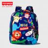 Рюкзак детский, синий. Animals.