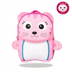 Рюкзак детский, розовый. Кошечка.