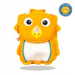Рюкзак детский, оранжевый. Трицератопс.