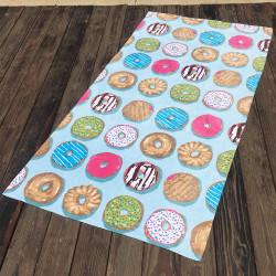 Полотенце махровое. Пончики. 90*180 см.