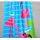 Полотенце махровое, детское, желтое. Фламинго. 150*75 см