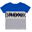 Футболка для мальчика, синяя. Bronx.