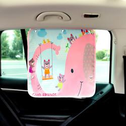 Защитная шторка для автомобиля. Слоник.