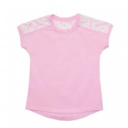 Блуза для девочки,розовая. Джулия.