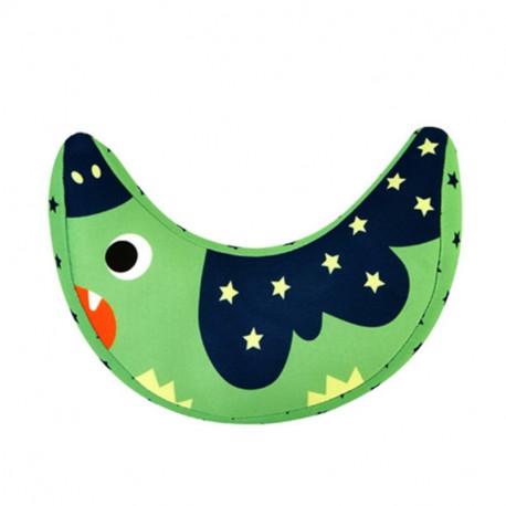 Подушка под шею. Зеленая