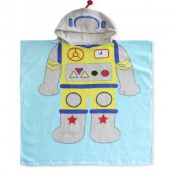 Полотенце пончо. Робот