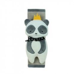 Накладка мягкая на ремень безопасности. Панда