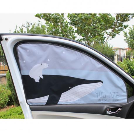 Защитная шторка для автомобиля. Кит