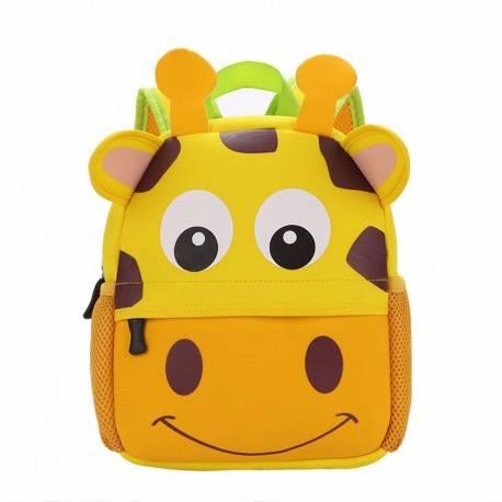 "Детский рюкзак ""Жираф"", желтый."