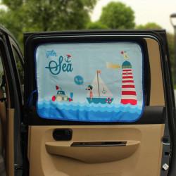 Защитная шторка для автомобиля. Море.