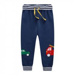 Штаны для мальчика, синие. Машины.