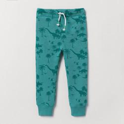 Штаны для мальчика, зеленые. Дино.