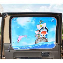 Защитная шторка для автомобиля. Кот пират.