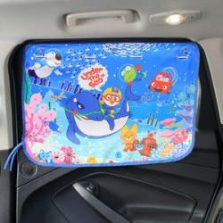 Защитная шторка для автомобиля. Морское дно.