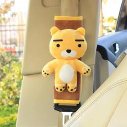 Накладка мягкая на ремень безопасности. Медвежонок.