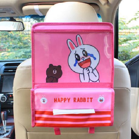 Карман в машину. Счастливый кролик.