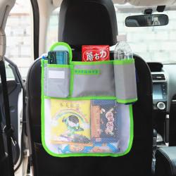 Карман в машину на сидение и в коляску. Органайзер. Зеленый.