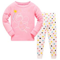 Пижама для девочки, розовая. Феечка.