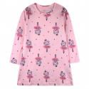 Ночная рубашка для девочки, розовая. Принцесса.