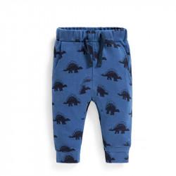 Штаны для мальчика, синие. Дино.
