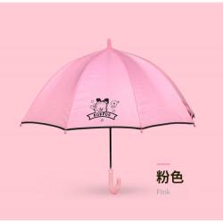 Детский зонтик, розовый. Dog.