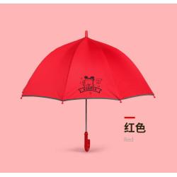 Детский зонтик, красный. Dog.