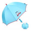 Детский зонтик, голубой.