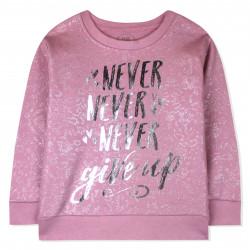 Джемпер для девочки, розовый, новогодний.