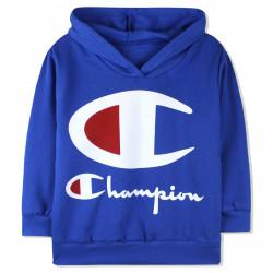 Кофта с капюшоном для мальчика, синяя. Чемпион.
