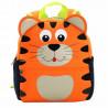 Детский рюкзак, оранжевый. Тигр. Большой.