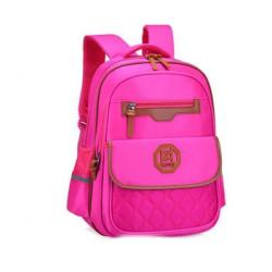 Рюкзак для девочки, розовый. Оксфорд.