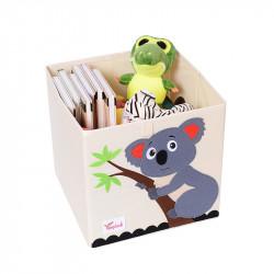 Складной ящик для игрушек. Коала.