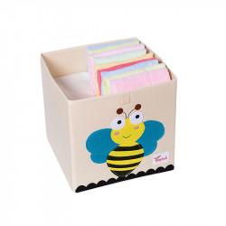 Складной ящик для игрушек. Пчелка.