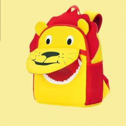 Детский рюкзак, желтый. Лев. (S)