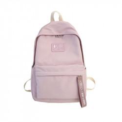Рюкзак для девочки, розовый. Ленточка.