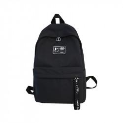 Рюкзак , черный. Ленточка.