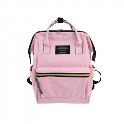 Сумка-рюкзак , розовый.