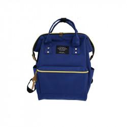 Сумка-рюкзак , синий.