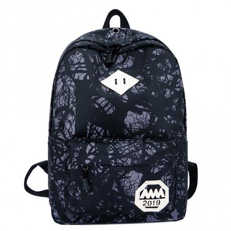 Рюкзак , черный. Абстракция.