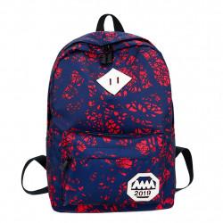Рюкзак, красный. Абстракция.