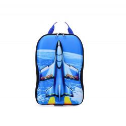 Рюкзак, синий. Истребитель.