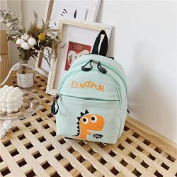 Детский рюкзак, зеленый. Дино.