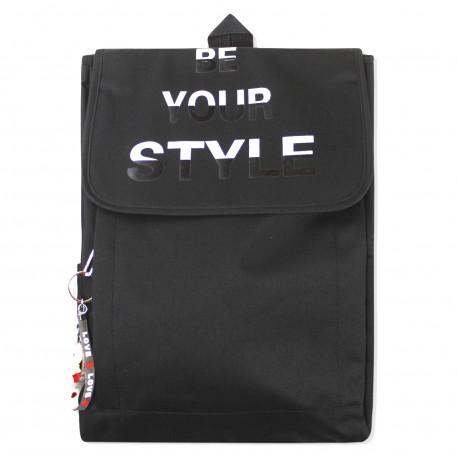 Рюкзак , черный. Стиль.