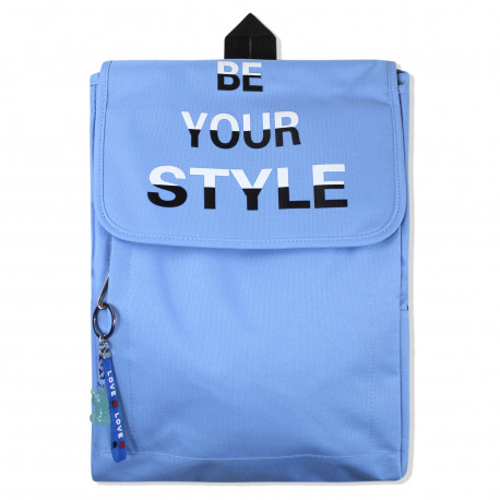 Рюкзак , синий. Стиль.