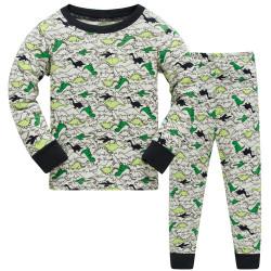 Пижама для мальчика, маленький динозавр.