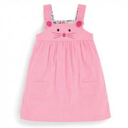 Сарафан для девочки, розовый. Мышонок.