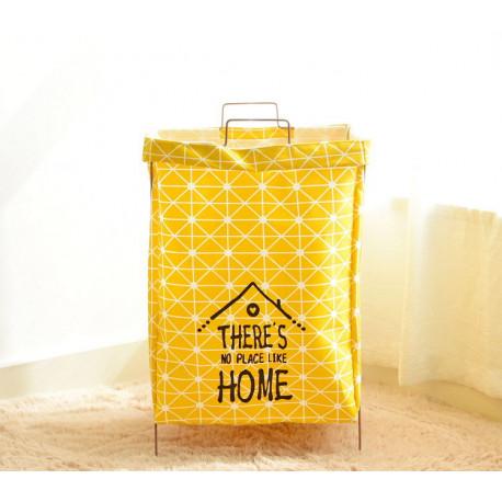 Корзина для игрушек, сумка, желтая. Домик.